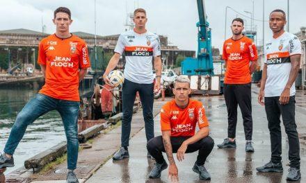 FC Lorient 2022 les nouveaux maillots de foot avec Kappa