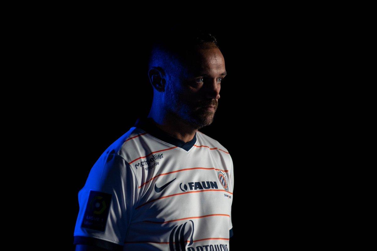 MHSC 2022 nouveau maillot de foot exterieur Montpellier