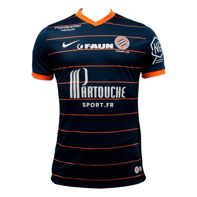 MHSC 2022 nouveau maillot domicile Montpellier