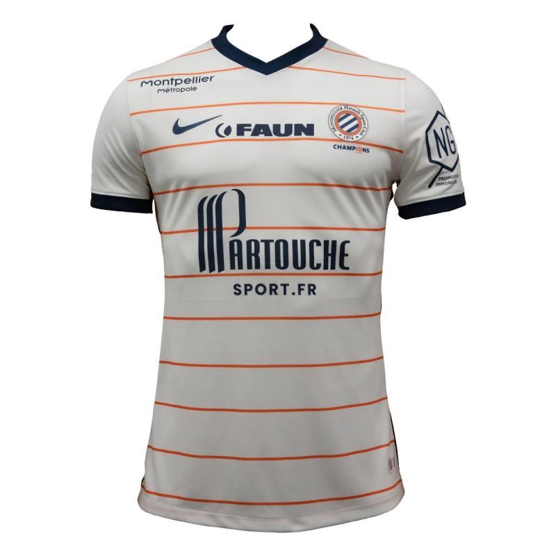 MHSC 2022 nouveau maillot exterieur Montpellier
