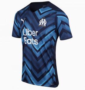 OM 2022 le nouveau maillot exterieur Marseille 21-22