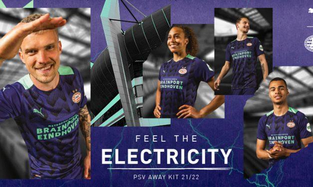 PSV Eindhoven 2022 les maillots de foot chez Puma