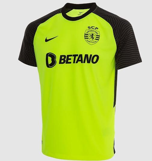 Sporting 2022 maillot de foot exterieur Nike