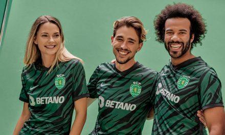 Sporting 2022 les maillots de foot du Sporting Clube de Portugal