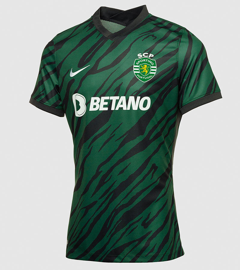 Sporting 2022 nouveau maillot third foot