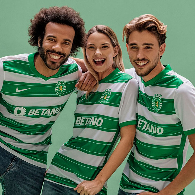 Sporting Clube Portugal 2022 nouveau maillot domicile
