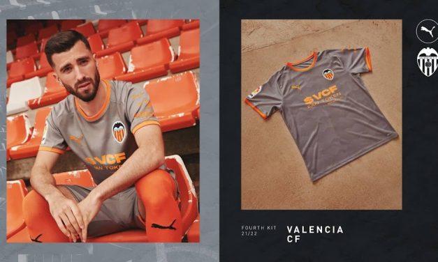 Valencia 2022 les maillots de foot avec Puma