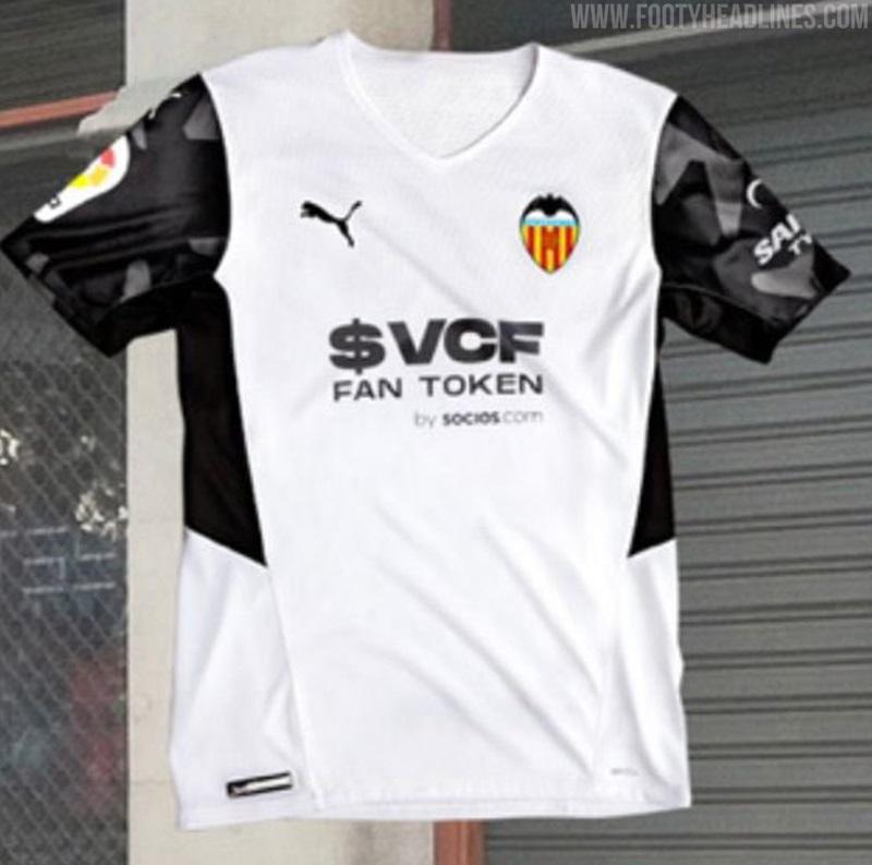 Valencia 2022 maillot domicile de foot