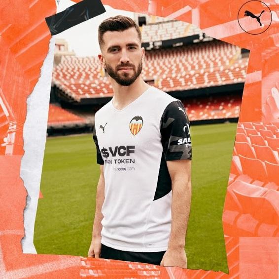 Valencia 2022 nouveau maillot domicile