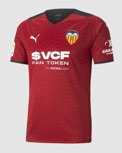 Valencia 2022 nouveau maillot exterieur