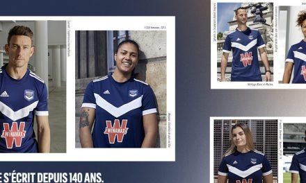 Les maillots de foot Girondins de Bordeaux 2022