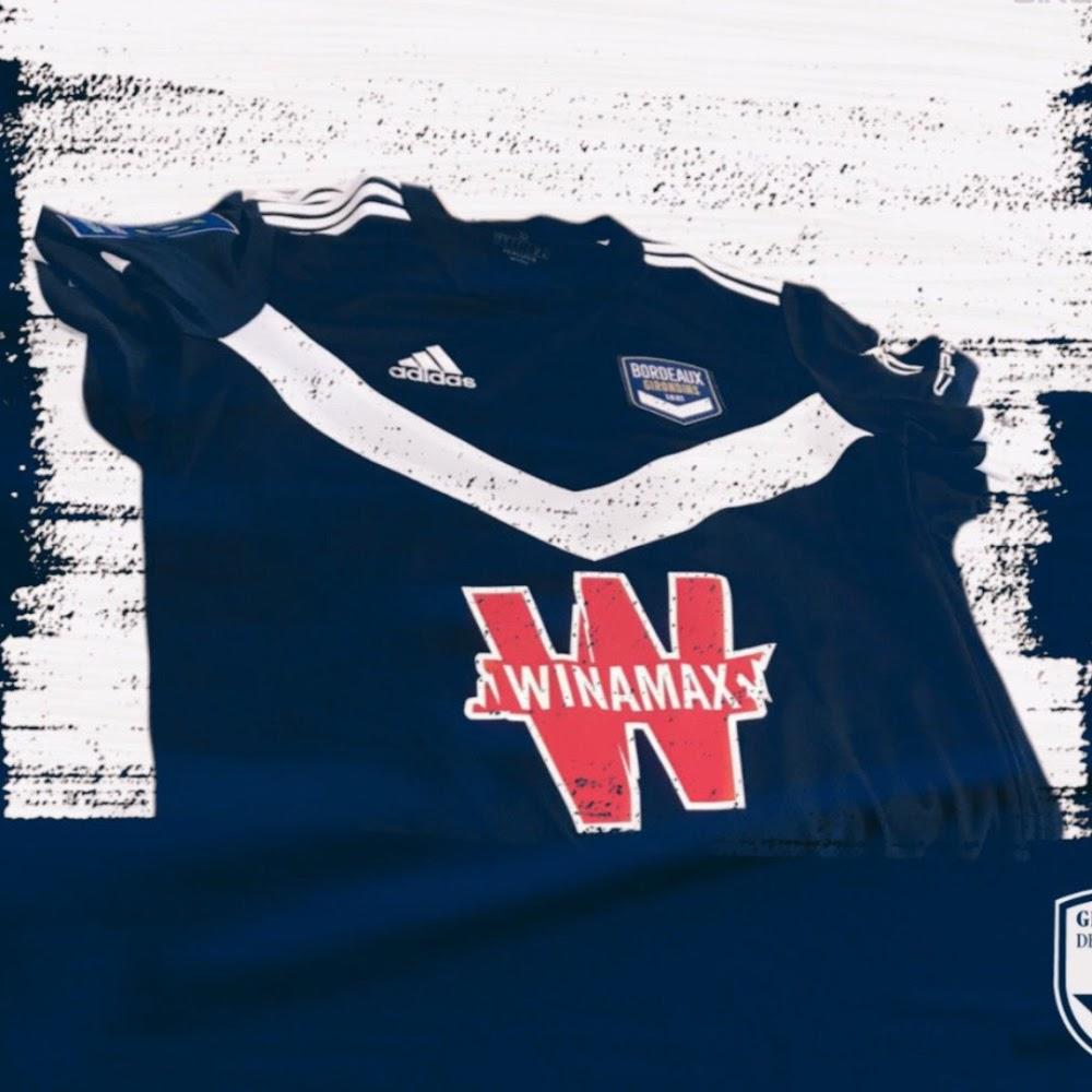 Bordeaux 2022 maillot domicile football
