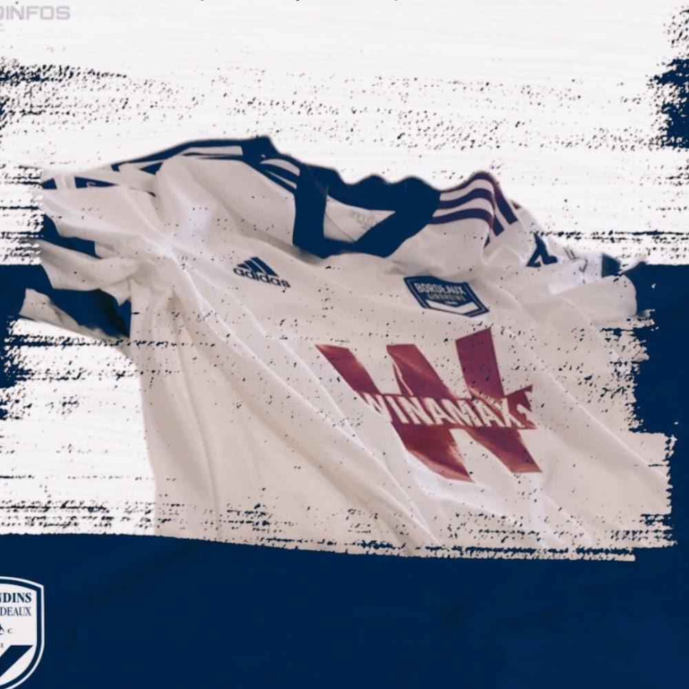 Bordeaux 2022 maillot exterieur football