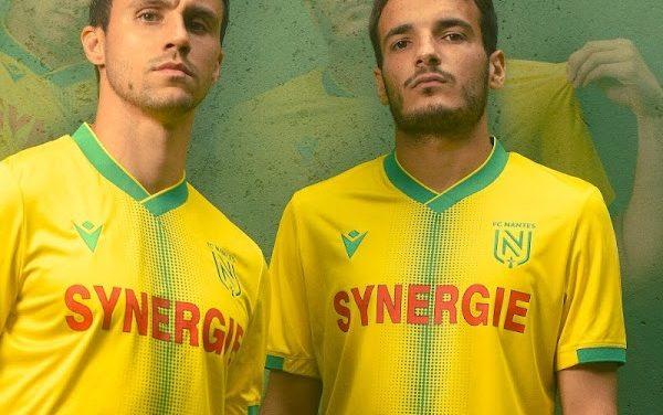 FC Nantes 2022 les nouveaux maillots de football sont officiels