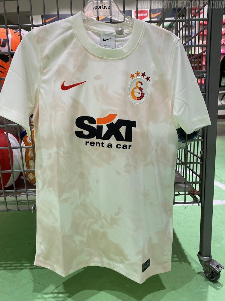 Galatasaray 2022 nouveau maillot third foot