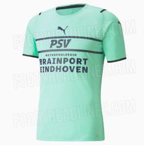 PSV 2022 nouveau troisieme maillot third