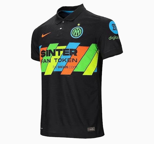 Inter Milan 2022 nouveau maillot third officiel