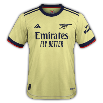 Arsenal maillot extérieur 2020