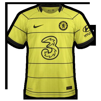 Chelsea maillot extérieur 2020