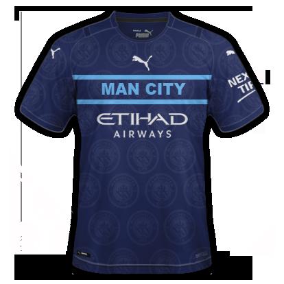 Manchester city 3ème maillot third 2020