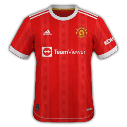 Manchester united maillot domicile 2021