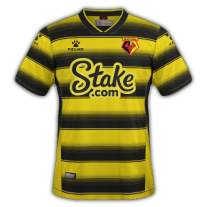 Watford maillot domicile 2020