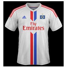 Hambourg maillot domicile 2015