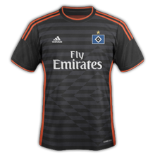 Hambourg maillot extérieur 2015