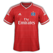 Hambourg 3ème maillot third 2015