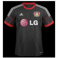 Leverkusen maillot extérieur 2015