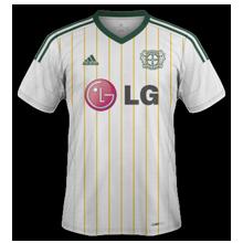 Leverkusen 3ème maillot third 2015