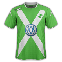 Wolfsbourg maillot domicile 2015