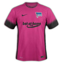 Hertha berlin 3ème maillot third 2017