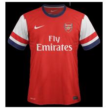 Maillot de foot 2012-2013 de arsenal domicile