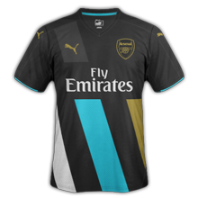 Arsenal 3ème maillot third 2016