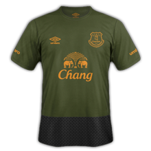 Everton 3ème maillot third 2016