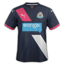Newcastle 3ème maillot third 2016