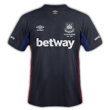 West ham 3ème maillot third 2016