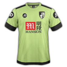 Bournemouth 3ème maillot third 2016 2017