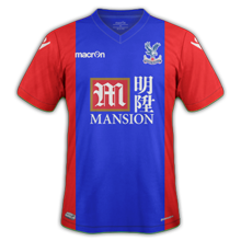 Crystal palace maillot domicile 2016 2017