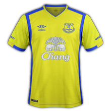 Everton 3ème maillot third 2016 2017