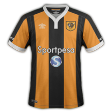 Hull city maillot domicile 2016 2017