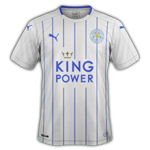 Leicester 3ème maillot third 2016 2017