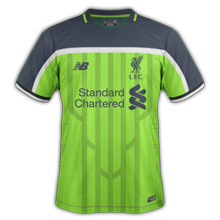 Liverpool 3ème maillot third 2016 2017