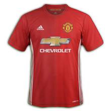 Manchester united maillot domicile 2016 2017
