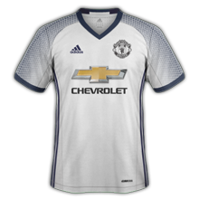 Manchester united 3ème maillot third 2016 2017