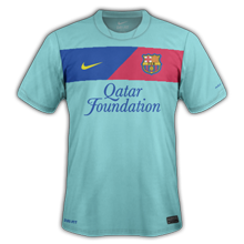 Maillot foot ligue des champions Barça 2012