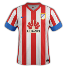 Maillot de foot 2012-2013 de atletico madrid domicile