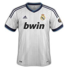 Maillot de foot 2012-2013 de real madrid domicile