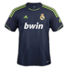 Maillot de foot 2012-2013 de real madrid exterieur